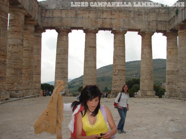 Segesta Tempio Periptero