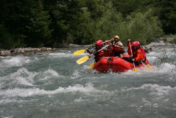 Rafting sul fiume Lao - 28 maggio 2009