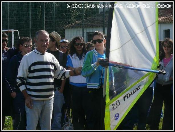 A scuola di windsurf